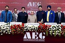 Pranab Mukherjee at ABS - Asian Business School Noida