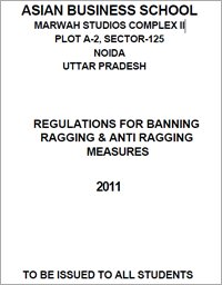 Anti Ragging Policy@ABS NOIDA