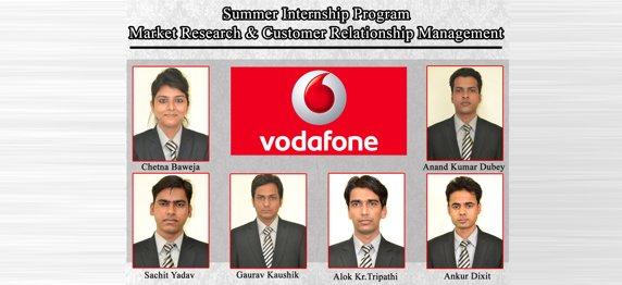 Experiential Learning with Vodafone Mobile Services Ltd.