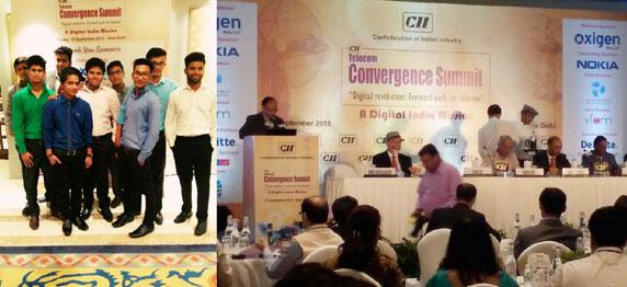 "ASIANITES AT THE CII SPONSORED ""TELECOM CONVERGENCE SUMMIT ""ON SEPTEMBER 18, 2015"