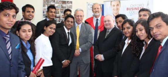 Asianites at Oxford Business College, UK