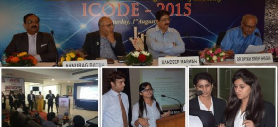 "Presentation of Research Papers by the students of Asian Business School in International Conference ""I CODE 2015"" – ""Digitization of Economy"""