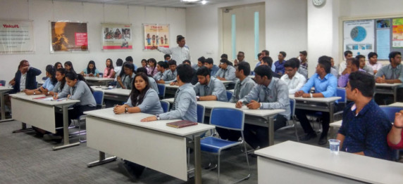 THE EXPRESSION OF EXCITEMENT AFTER THE INDUSTRIAL VISIT OF THE STUDENTS OF ASIAN EDUCATION GROUP