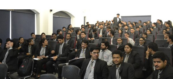DISTINGUISHED GUEST LECTURE AT ASIAN BUSINESS SCHOOL, NOIDA