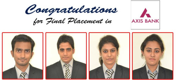 """ASIANITES PLACED WITH """"AXIS BANK LIMITED"""" IN CAMPUS PLACEMENT DRIVE"""