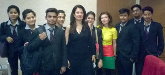 """STUDENTS OF ASIAN EDUCATION GROUP ATTENDED INTERACTIVE SESSION ON """"BUILDING LUXURY BRANDS"""" IN AIMA"""