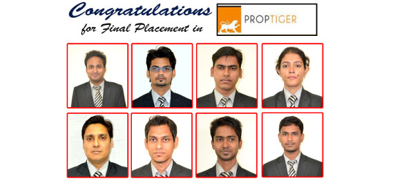ASIANITES SHOW PROMISE IN THE PROPTIGER.COM PLACEMENT DRIVE