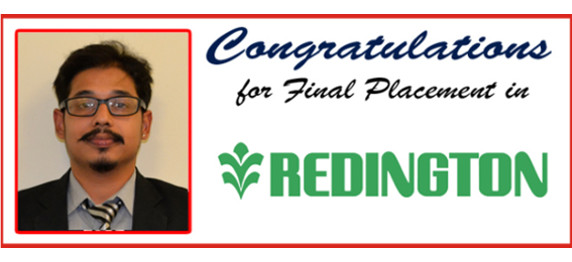ASIANITE PLACED IN THE FINAL PLACEMENT DRIVE IN REDINGTON
