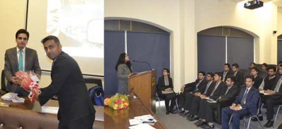 """WORKSHOP ON """"STOCKMIND"""" BY ICICI SECURITIES LTD IN ASIAN BUSINESS SCHOOL, NOIDA"""