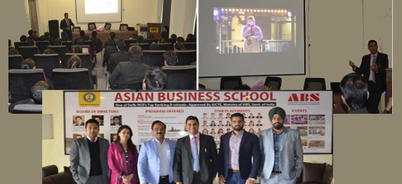 CORPORATE INTERFACE AT ASIAN BUSINESS SCHOOL, NOIDA