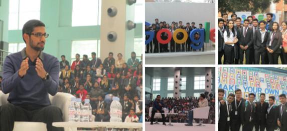 ASIANITES WITH SUNDER PICHAI(Google CEO) IN NEW DELHI