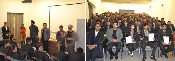 BUSINESS STANDARD CONDUCTED QUIZ COMPETITION IN ASIAN BUSINESS SCHOOL, NOIDA