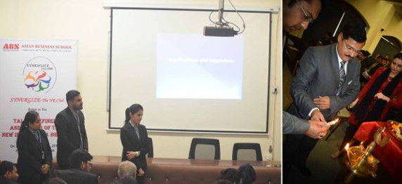 """""""SYNERGIZE"""" – HR CLUB ACTIVITY HELD IN ASIAN BUSINESS SCHOOL, NOIDA"""