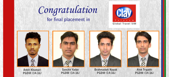 ASIANITES CARVE A NICHE IN THE CLAY TELECOM CAMPUS PLACEMENT DRIVE