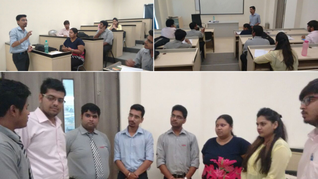 "SKILL DEVELOPMENT WORKSHOPS ON ""GROUP DISCUSSION TECHNIQUES"" AND ""USAGE OF TENSES AND PARTS OF SPEECH""@ABS"
