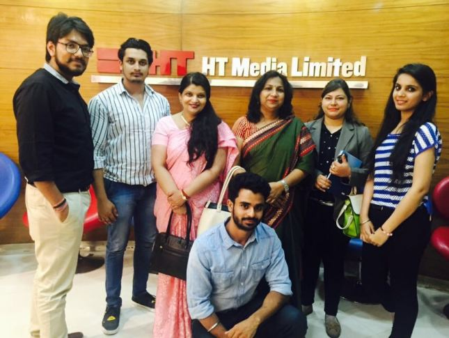 ACADEMIC-INDUSTRY MENTOR MEETING AT HT MEDIA