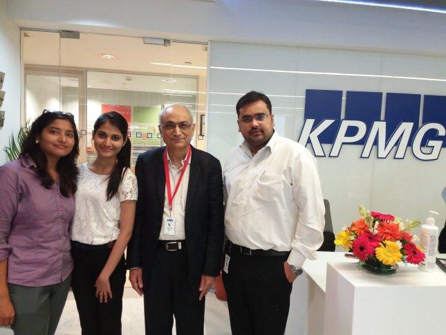 ACADEMIC-INDUSTRY MENTORS' MEETING AT KPMG