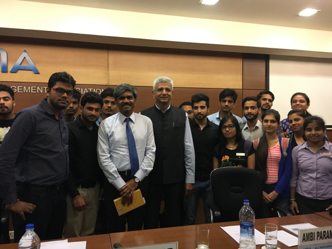 Asianites Interact With The Author Of Nawab, Nudes, Noodles @ AIMA