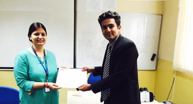 Asianite Appreciated @ Nucleus Software Exports, Noida