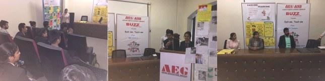 """The Buzz"" Activity @ ABS"