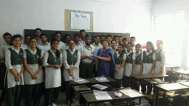 CSR Initiative Undertaken At New Green Fields School, New Delhi
