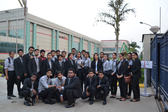 Industrial Visit @ Moser Bear, Greater Noida