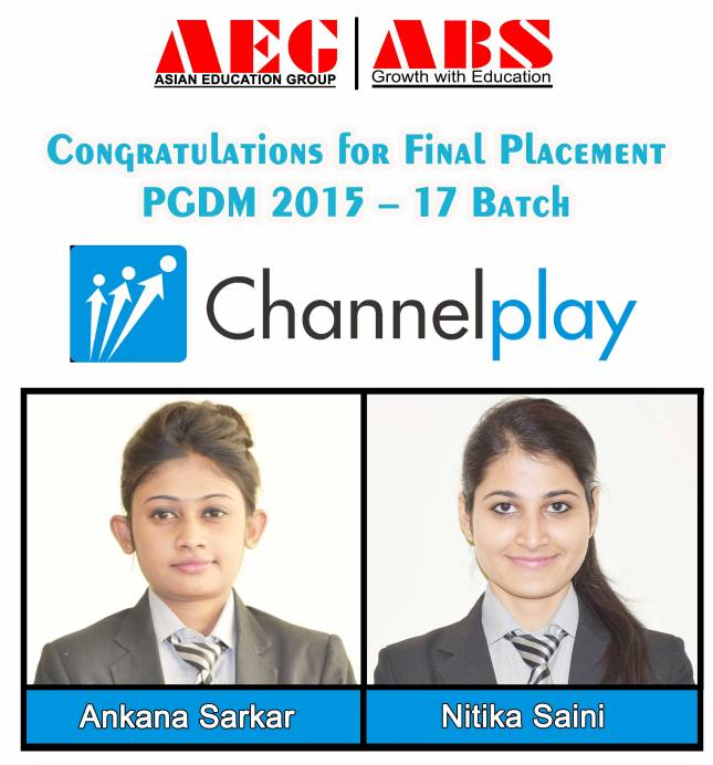ASIANITES PLACED@CHANNEL PLAY