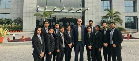 ABS Students Attend Lectures by Eminent Guests at AICTE