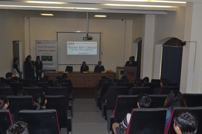 College Business Plan Competition @ ABS