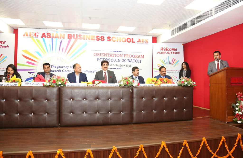 ABS PGDM Orientation 2018 – Assistant Dean's Address and Message ( Mr. Ravi Sharma)