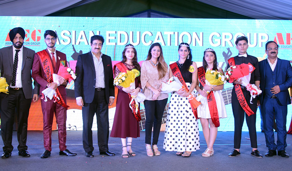 Freshers Party 2018 at Asian Education Group: A Gala Event