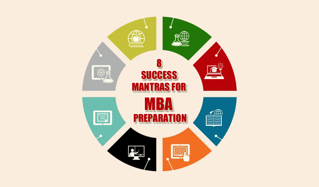 8 SUCCESS MANTRAS FOR MBA PREPARATION