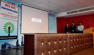 Asian Business School-National Unity day