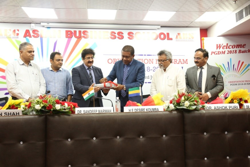 ABS PGDM Orientation 2018 – Release of International Journal of Management Volume VI Issue 1