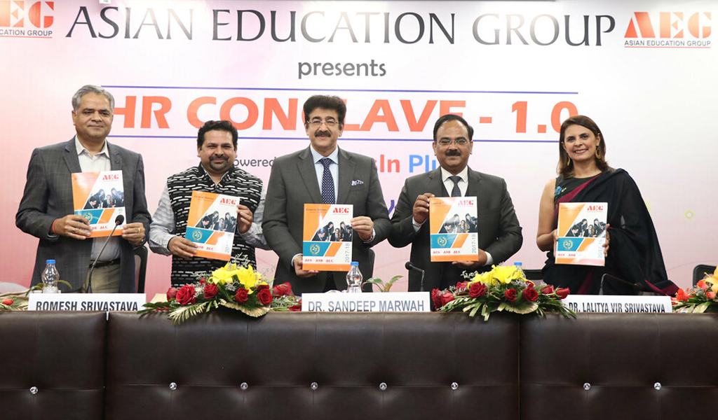 Asian Education Group organizes a knowledge-packed human resource meet, the 'AEG HR Conclave 1.0'