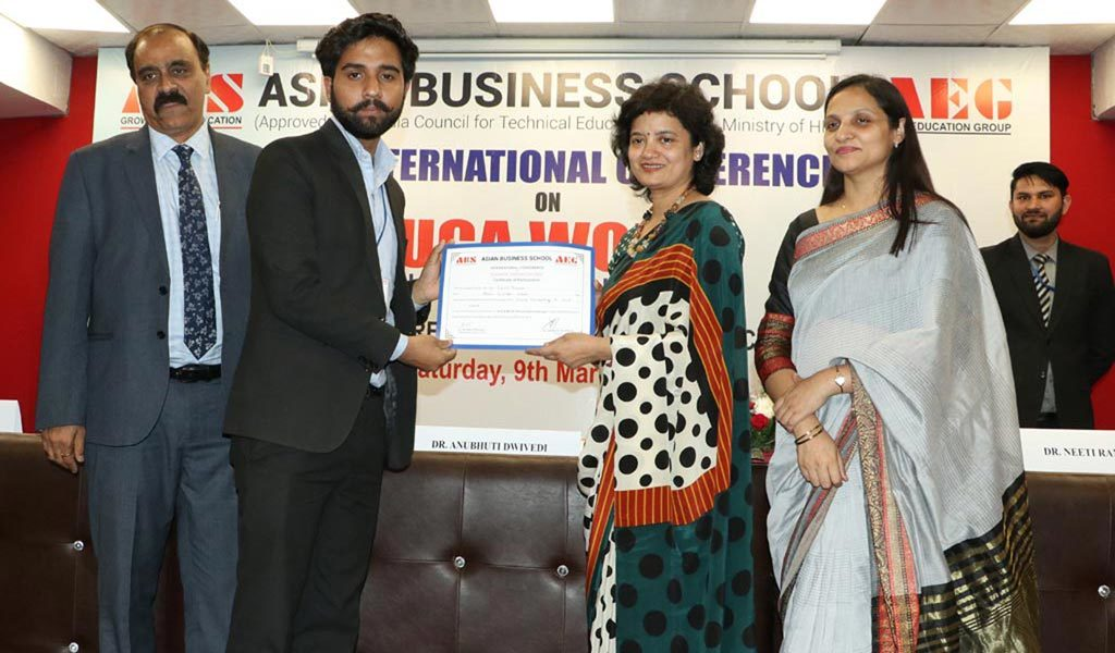 """Asian Business School organizes the 6th International Conference on """"VUCA World: Issues & Challenges"""" with great success"""