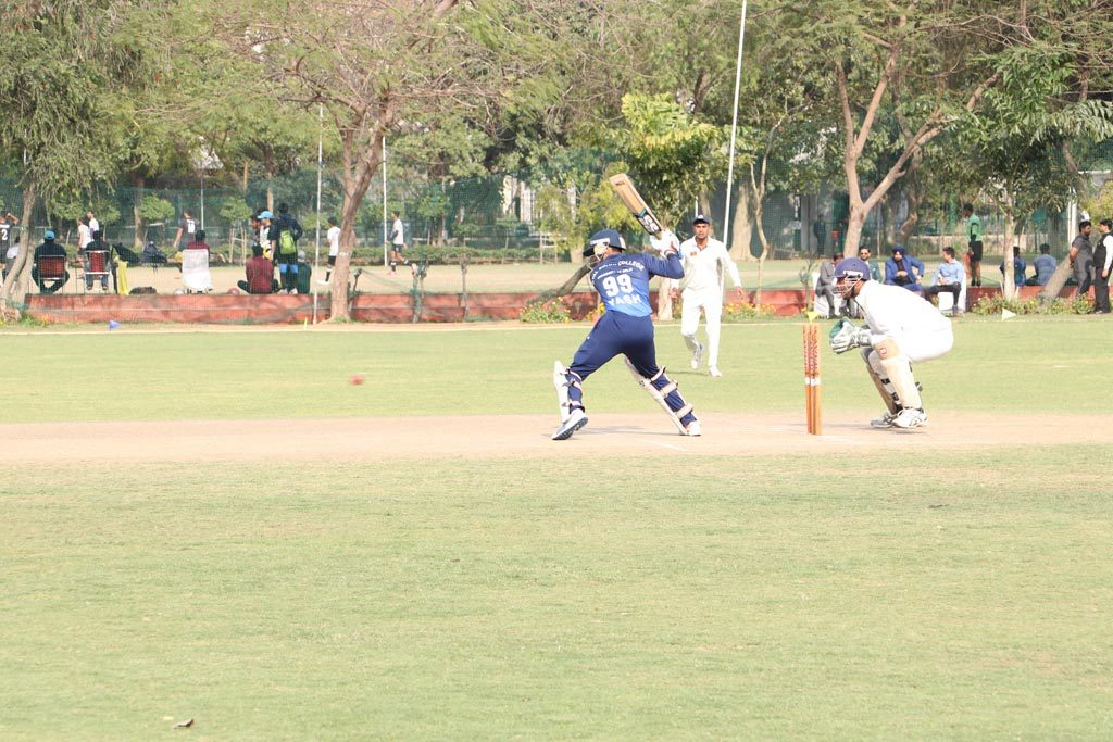 Ball for AEG ABS Annual Inter-College Sports Festival, ATHLEEMA set rolling on Cricket field