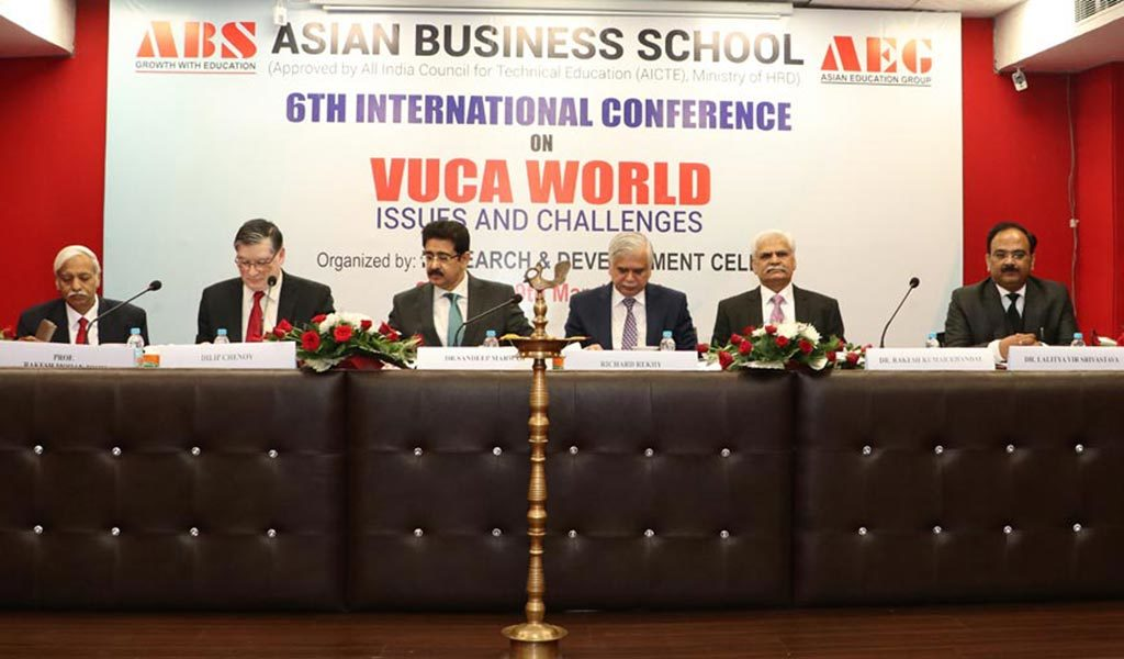 "Asian Business School organizes the 6th International Conference on ""VUCA World: Issues & Challenges"" with great success"