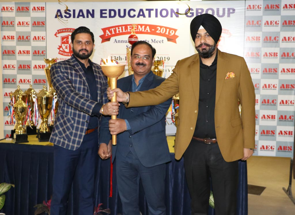 Asian Education Group's 7th annual sports extravaganza, ATHLEEMA 2019 turns out a spectacular success!