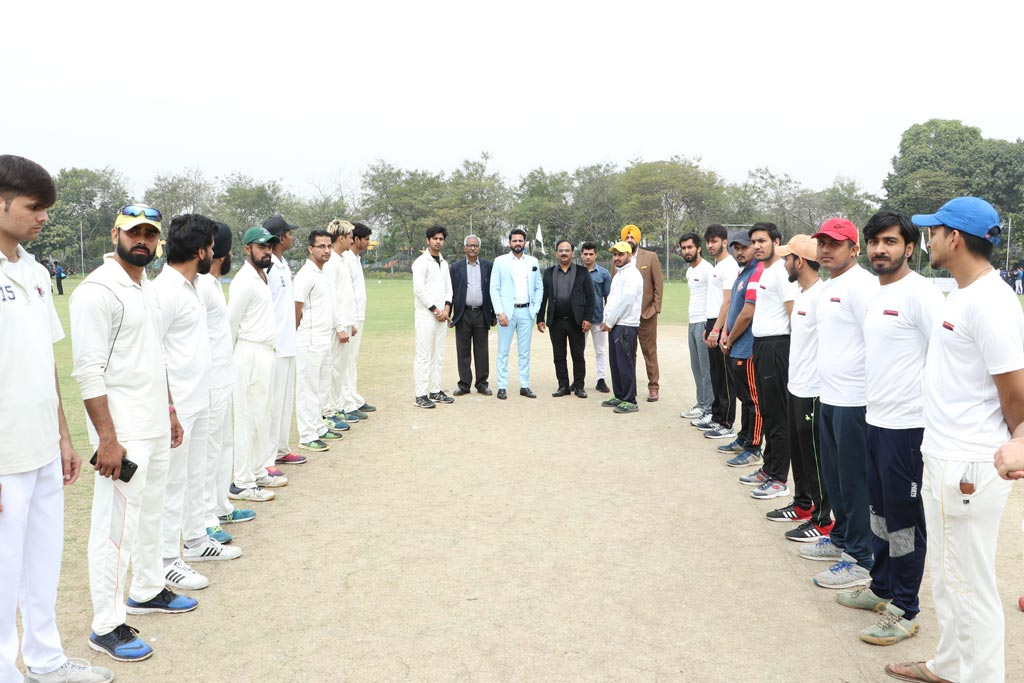 Ball for AEG ABS Annual Inter-College Sports Festival, ATHLEEMA set rolling on Cricket field!