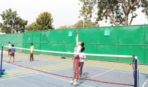 Extraordinary Showcase of Badminton Tournament at AEG ABS Annual Inter-College Sports Meet, ATHLEEMA 2019