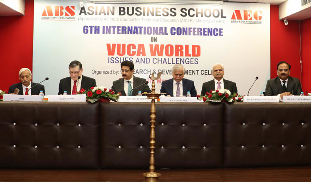 """ABS 6th International Conference on """"VUCA World: Issues & Challenges"""""""