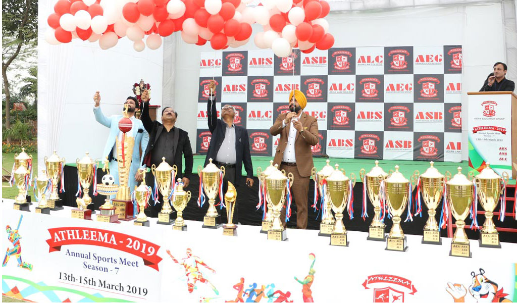 AEG Asian Business School's 7th annual sports meet, ATHLEEMA 2019 witnesses a grand inauguration!