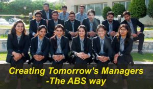 Creating Tomorrow's Managers-The ABS way