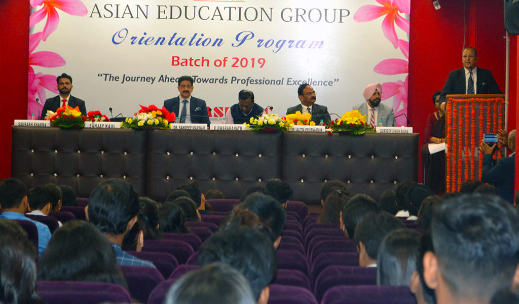 ABS PGDM Orientation 2019- Guest of Honor Mr. Sanjay Kaul