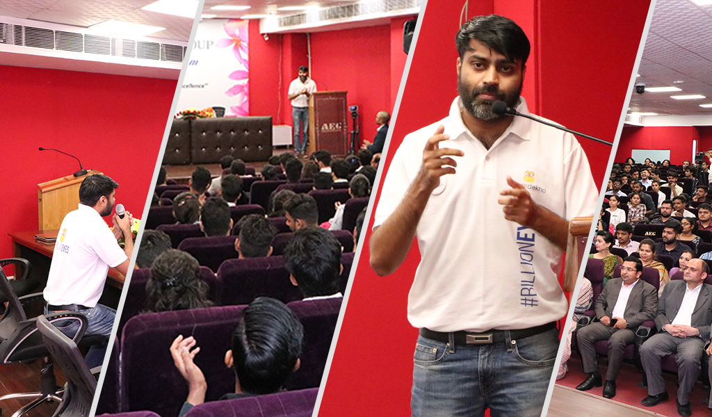 AEG Lead Lecture Series 2019: An illuminating talk by Mr. Shivi Singh