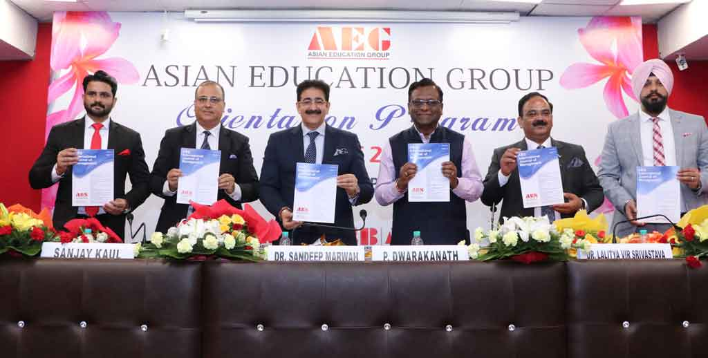 AEG Asian Business School holds its ABS PGDM Orientation 2019 Program with due solemnity