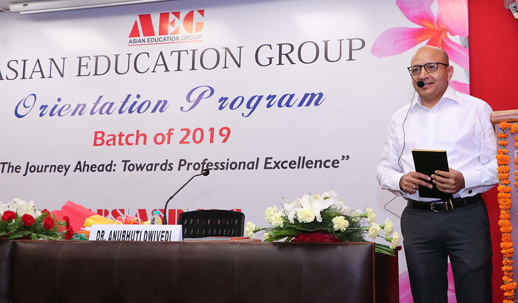 ABS PGDM Orientation Programme 2019 Day 2 – Lead Leacture by Mr. Chandan Kumar