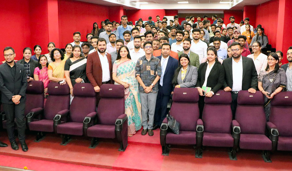 ABS PGDM Orientation Programme 2019 Day 2 – Lead Lecture by Mr. Farrhad Acidwalla