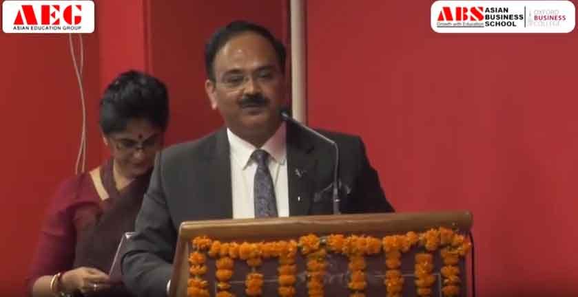 ABS PGDM Orientation 2019 – Dr. Lalitya Vir Srivastava's Address